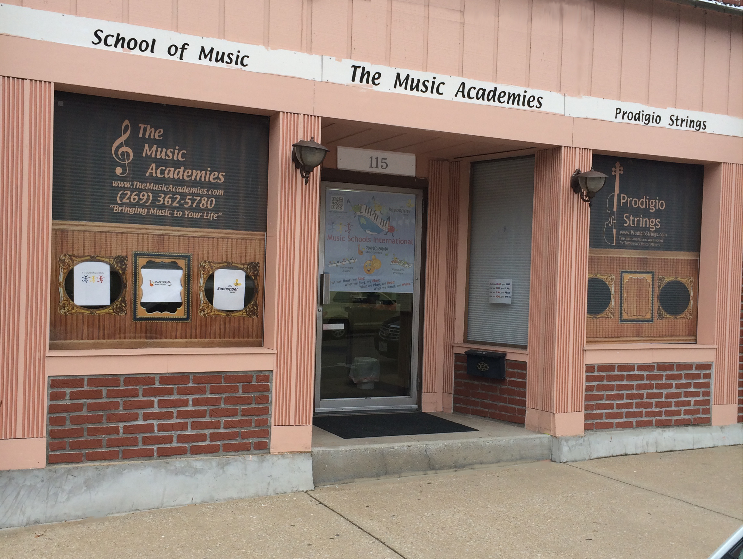 Music Academies Building front